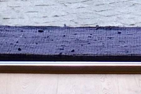 Kleine Schwelle (2cm) Eingangstüre Wohnung