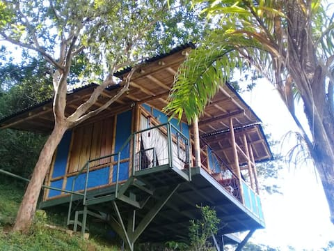 Peaceful Bamboo Cottage for Nature Lovers Quindío