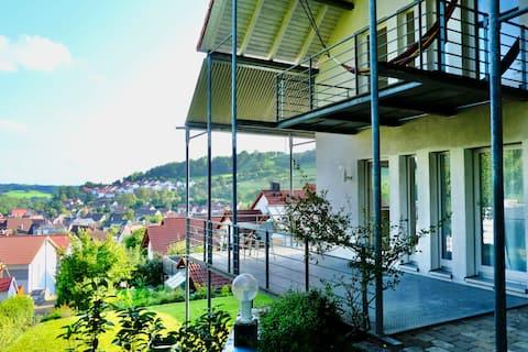 Wohnung mit Terrasse und wunderschönem  Ausblick