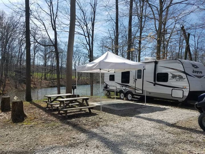 Bill Monroe Lakeside Camper