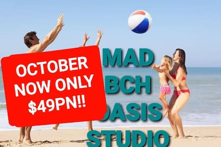 Mad Bch Oasis Studio*OCT SPECIAL*$49 PN !