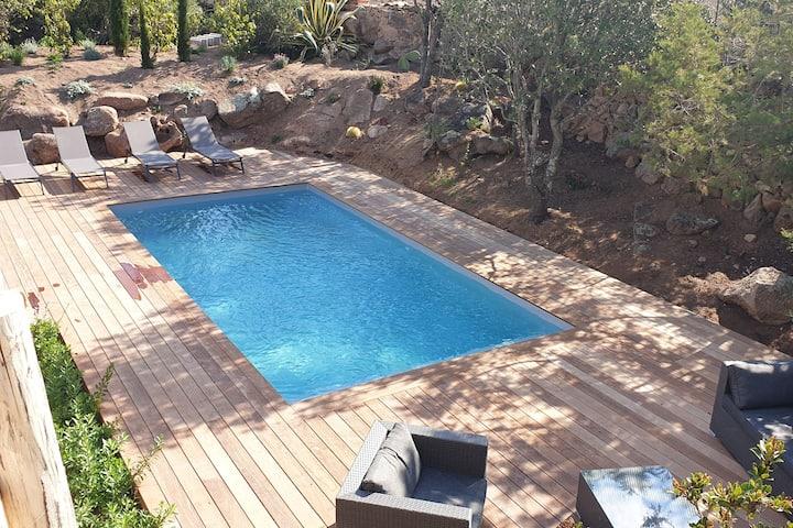 Villa De Louva pour 10 personnes piscine chauffée