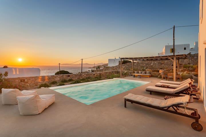 Nikoi Villas, Private Swimming Pool, Mykonos