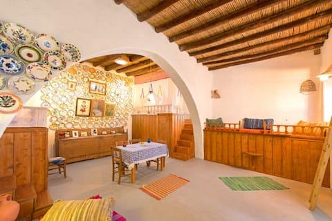 """""""Tsampika"""" traditionelt hjem Archangelos Rhodos"""