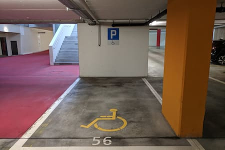 Disabled parking spot