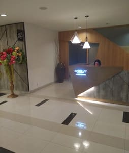 Front desk of the LG floor where usually the guest is coming-in