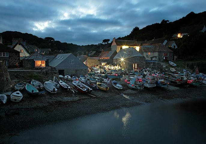 Fisherman's Studio in Cadgwith Cove