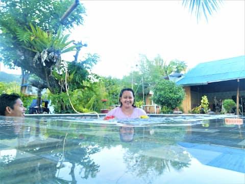 Villa Catalina Bora Kubo  resort, V2 beach, pool