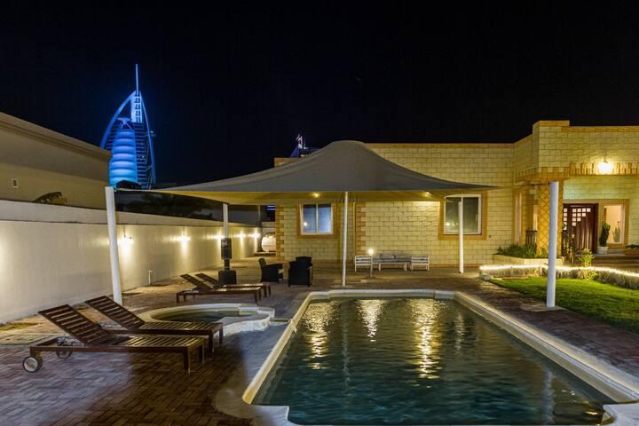 Luxurry 4BR Jumeirah beach with Burj al Arab View