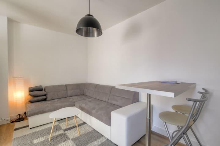 Studio Charpennes/Part Dieu renovated