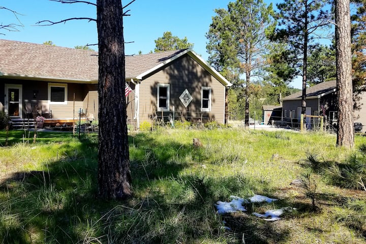 Peaceful Ranch Style Home on 7 Acres in the Woods.
