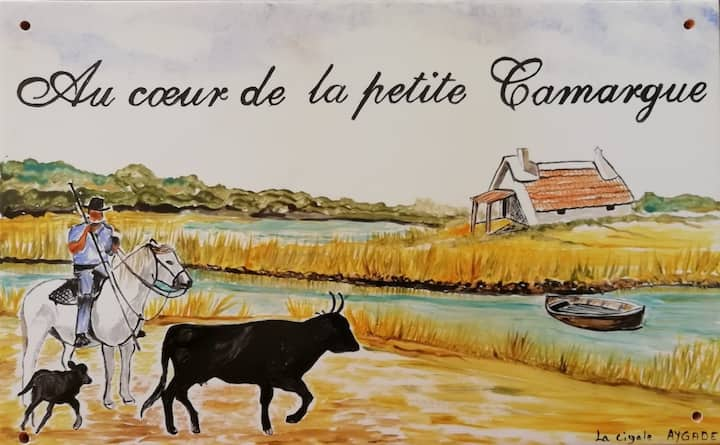 Au cœur de la petite Camargue