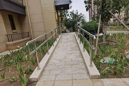 Lối vào không có bậc thang