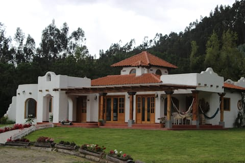 Beautiful house in the contryside of Otavalo