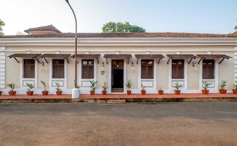 SPLENDID 3BHK PRIVATE VILLA IN GOA'S LATIN QUARTER