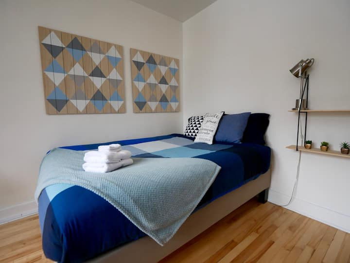 Splendid apartment directly in Vieux-Québec-4p
