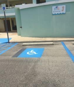 Handicap Parking available