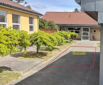 Disabled parking spot