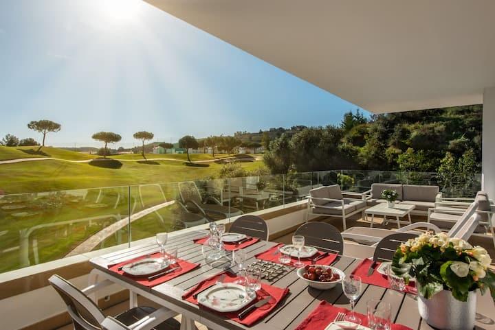 New Luxury 3BR Frontline La Cala Golf with BBQ