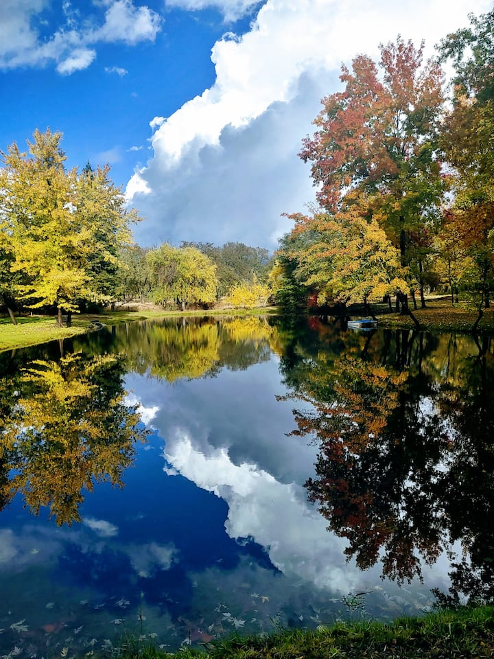 Lakes, Rivers, Farm Stay 100 Acres, Granite Bay