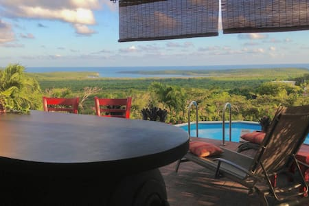 Private Pool Bar with Panoramic View! 5* A/C, WiFi