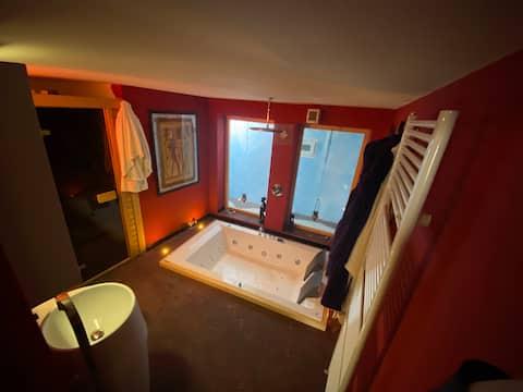 Romantische Luxus-2-Zimmer-Wohnung mit atemberaubender Aussicht