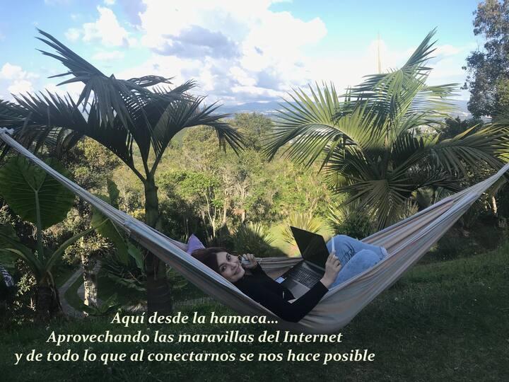 Su Finca en Rionegro con Internet y linda Vista