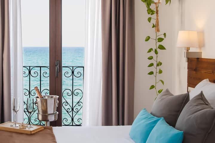 Habitación doble con vistas al mar (3 - 1º planta)