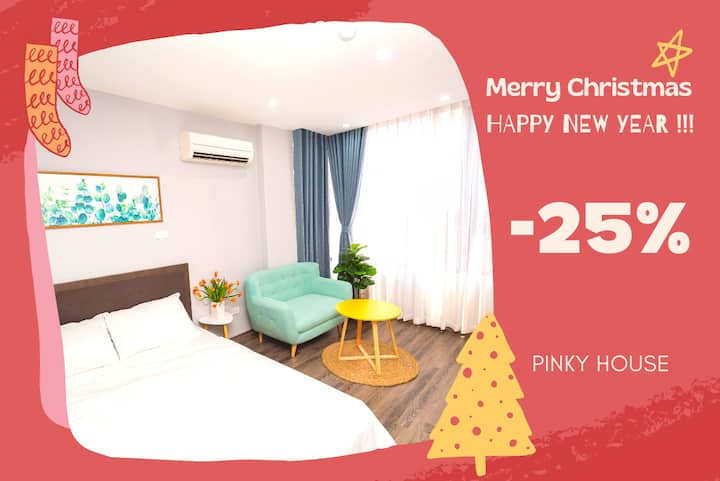 💝 Pinky House 💝 5.1 DISCOUNT 1br Cozy Apt Lake