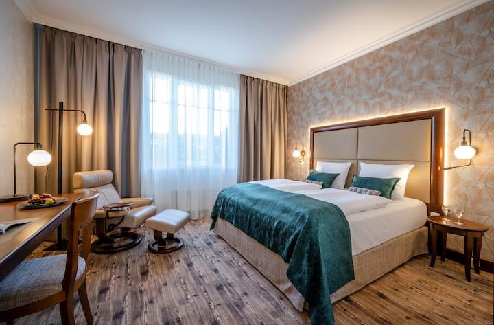 Deluxe Doppelzimmer mit Klimaanlage, 25qm