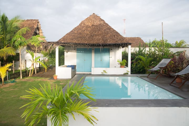 Casita Yemanja- private house with kitchen & Pool