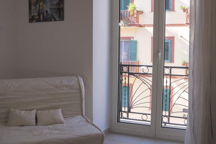 GADV -  Doppio balcone, cucina e bagno privato!