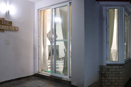 This is the main entrance to the one bhk Cotage .