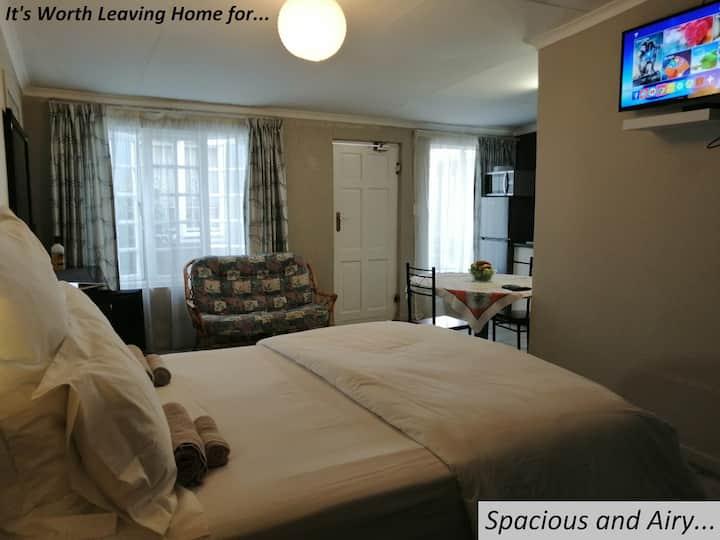 Large 1 bedroom guest suite & own entrance.