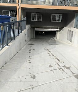 this is the underground parking Access