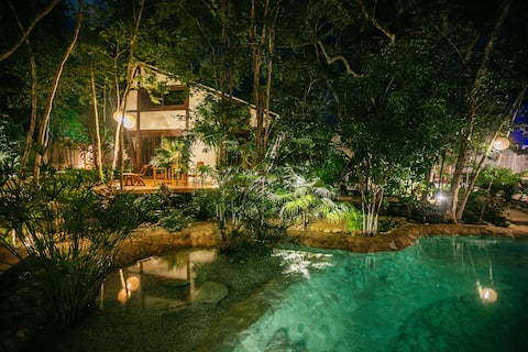 Jungle Lodge at Nahouse in Tulum