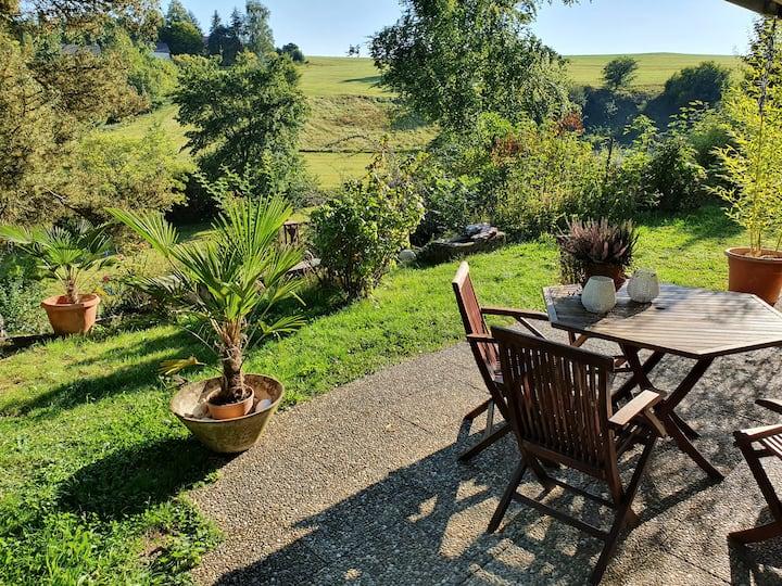Ruhige Wohnung im traumhaften Grünen von Bad Urach