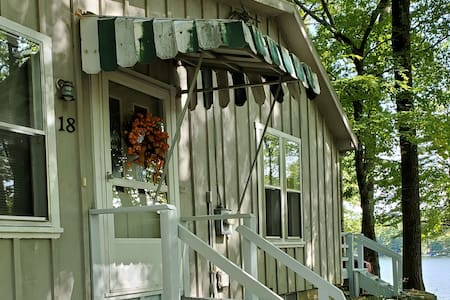 cottage with view & access to Glen Lake, NY