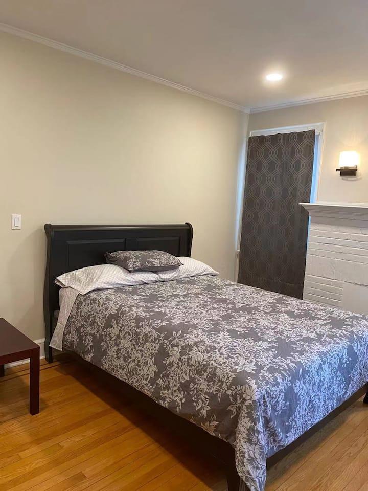 Separate Entrance-- Big  Bedroom Suite with Patio