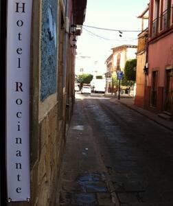 Sobre la calle principal Al centro histórico