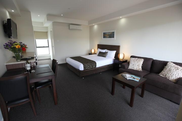 Premium Queen room by the beach!