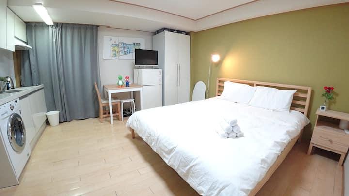 ♥격리&흡연 가능♥ Yoshi house 2min Hongdae Stn