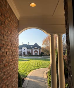Exterior lighting will help illuminate the path to the front door.