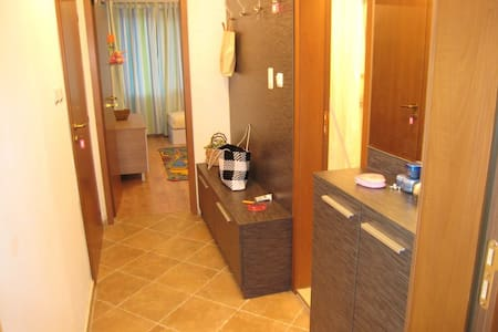This is a photo of the corridor showing that there are no obstacles in the apartment.