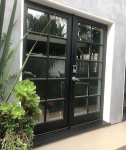 Front door is 5 feet wide double door
