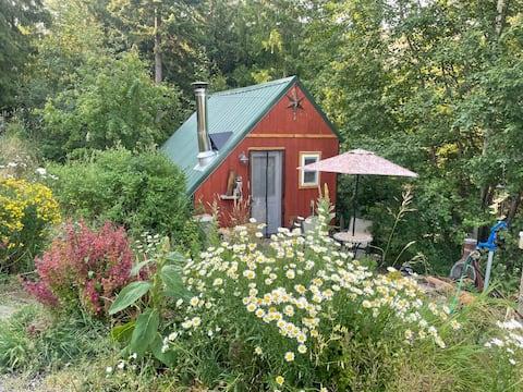 The Birds Nest Bunk House is a quiet sanctuary.