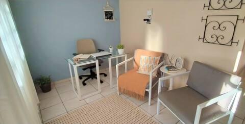 Casa do Ipê, Isolamento, Segurança e Home Office