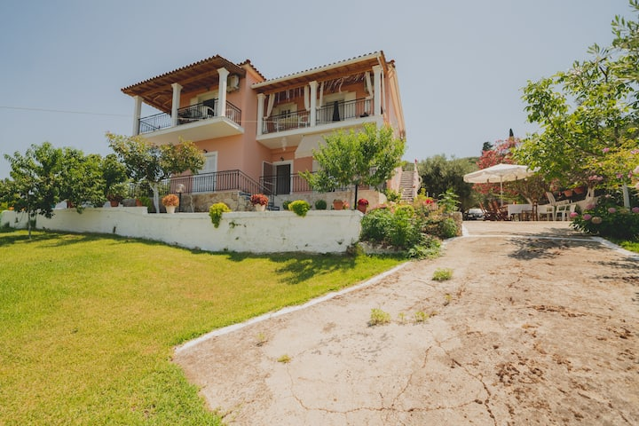 Corfu, Armonia Apartments, Messoghi