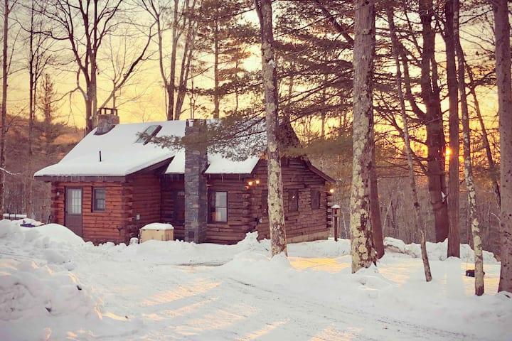 The Vermont Dream Cabin on 70 Private Acres