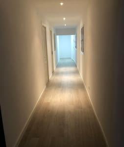 Nuestro pasillo tiene una anchura de 1,60 metros
